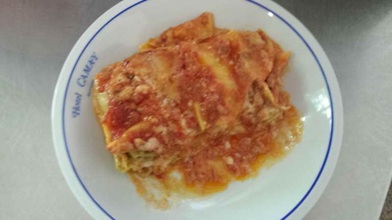 Albergo Ristorante Riccione Cucina Lasagna