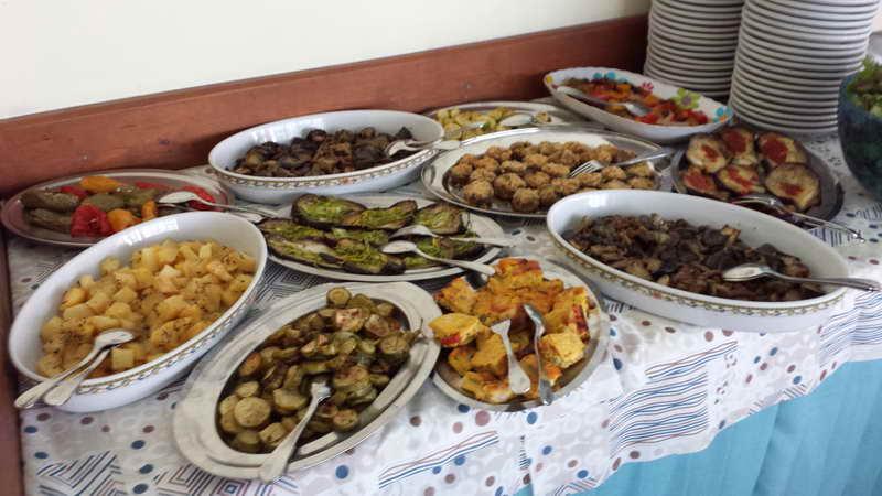 Albergo Ristorante Riccione Cucina Buffet