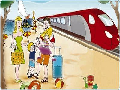 Albergo Riccione Offerta Al Mare in Treno